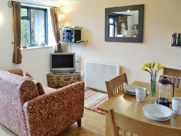 Kingfisher Cottage Living Space at Robin Hill Farm Cottages