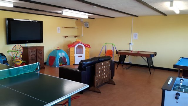 Games Room at Robin Hill Farm Cottages