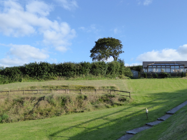 Grass Banks Perfect for Rolling Down at Robin Hill Farm Cottages
